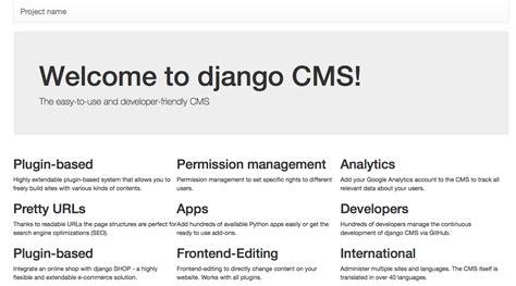 installing django cms django cms 3 4 5 documentation