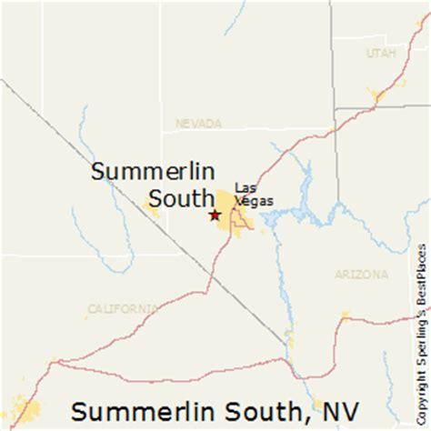 comparison summerlin south nevada newnan