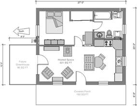 Small House Floor Plan by Tiny House Plans 3