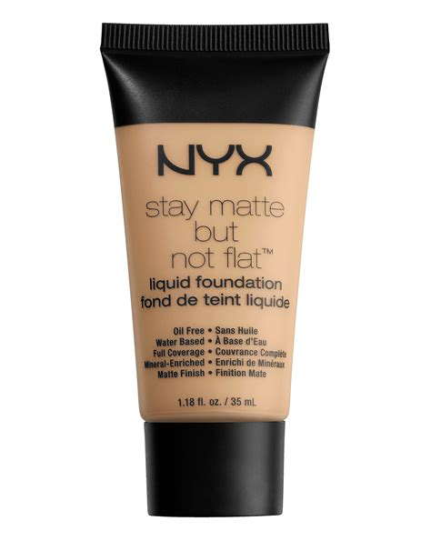 Nyx Stay Matte But Not Flat stay matte but not flat liquid foundation by nyx professional makeup