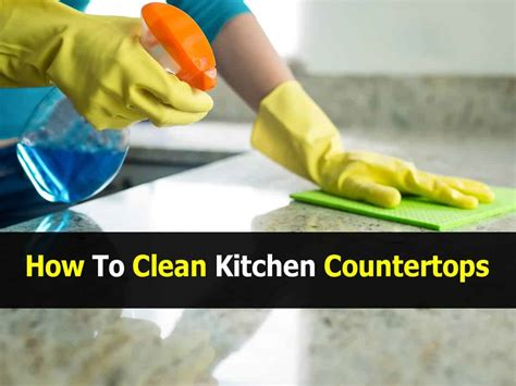 How To Make Kitchen Cleaner by How To Clean Kitchen Countertops And Seal Them