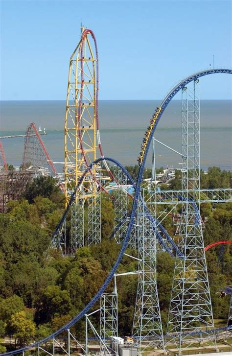 theme park in ohio best amusement park in the world cedar point on lake