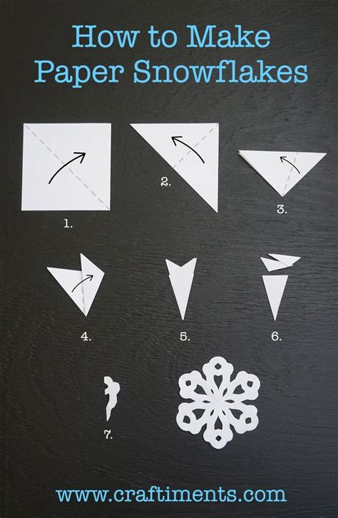 Step By Step How To Make Paper Snowflakes - the world s catalog of ideas