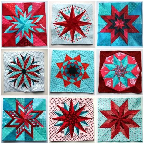 Pieced Quilts by Paper Piecing Monday Blocks Quilts Tutorials
