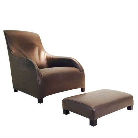 b b italia lounge chair kalos leather lounge chair by antonio citterio for b b