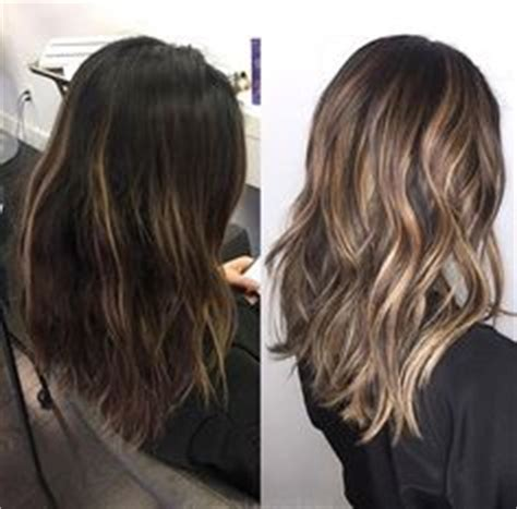 replay pictures of hair styles for middle aged women blonde highlights on medium brown hair by sarah peck