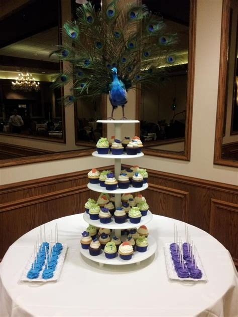 sweet themes bakery facebook peacock themed sweet 16 dessert tables pinterest