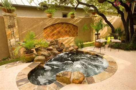 amazing  ground   ground hot tub ideas page