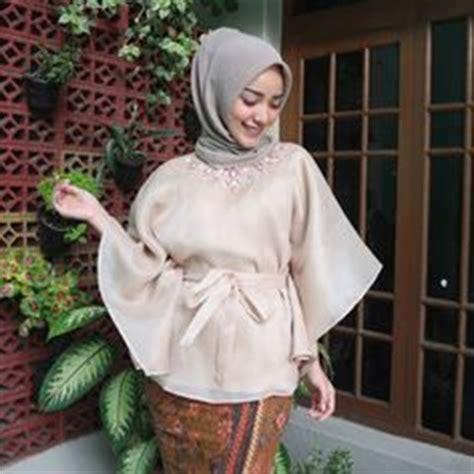 Blouse Muslim Baju Atasan Wanita Rotterdam Top baju raya 2016 kebaya peplum kimono style blouse ideas grey organza kimono wrap baju