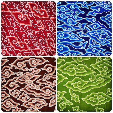 pattern batik mega mendung mega mendung batik cirebon sundanese arts cultures