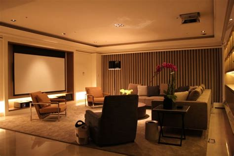 living room projector portfolio stellar home theater automation the