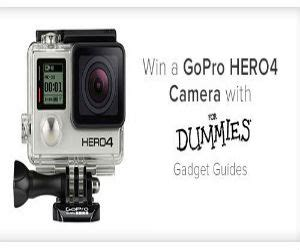 Dummies Com Sweepstakes - win a go pro hero4 camera with for dummies free sweepstakes contests giveaways
