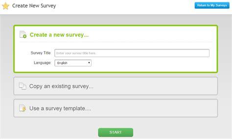 Web Based Survey - review of surveymoz web based survey software
