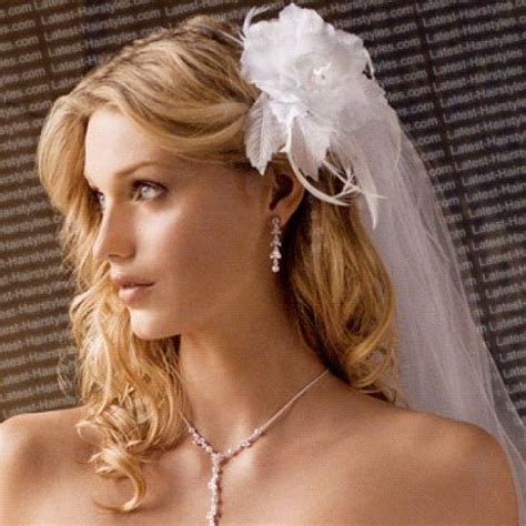 hairstyles down with veil romantic bridal hairstyles 365greetings com