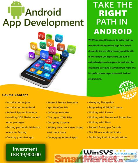 online tutorial for android application development android apps development training course