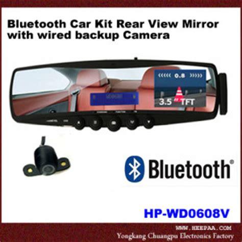 Modoo Bluetooth Mirror Free Car Kit by Backup Automotive Safety Kansas City Install