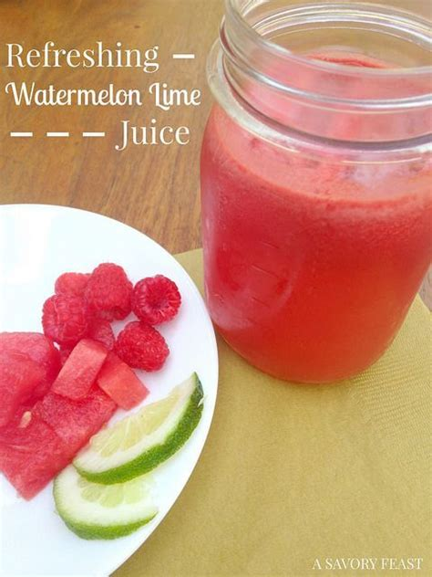 Watermelon Detox Juice by Check Out Refreshing Watermelon Lime Juice It S So Easy