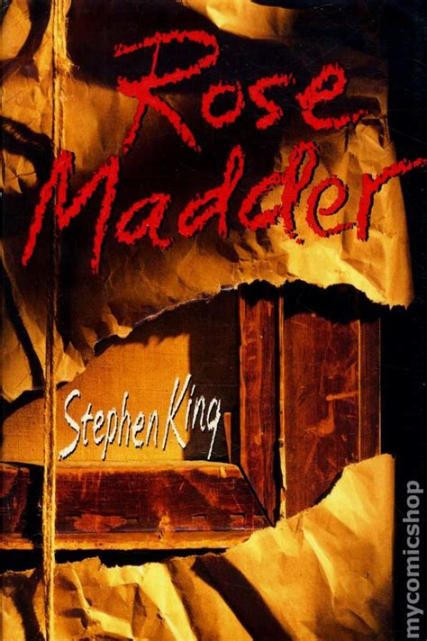 rose madder rose madder hc 1995 novel by stephen king comic books