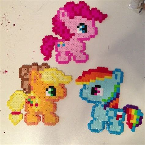 my pony perler 32 best images about pixel my pony on