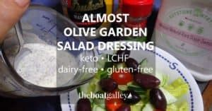 is olive garden salad dressing gluten free recipes the boat galley