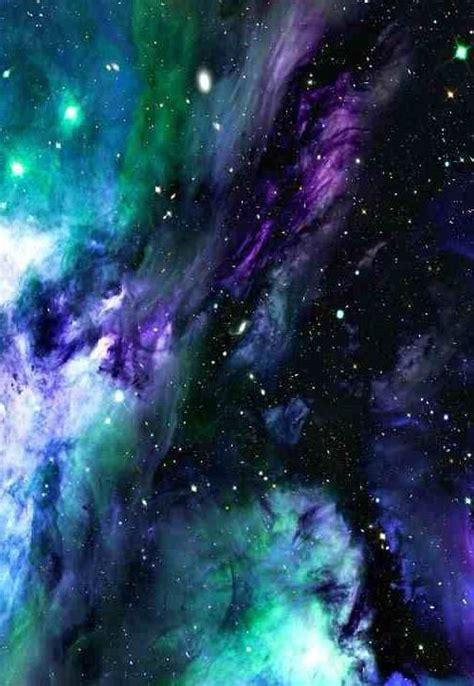 purple blue green galaxy nebula green galaxy nebula