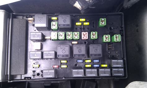 Fuse Box Chrysler Voyager 2005 Wiring Library