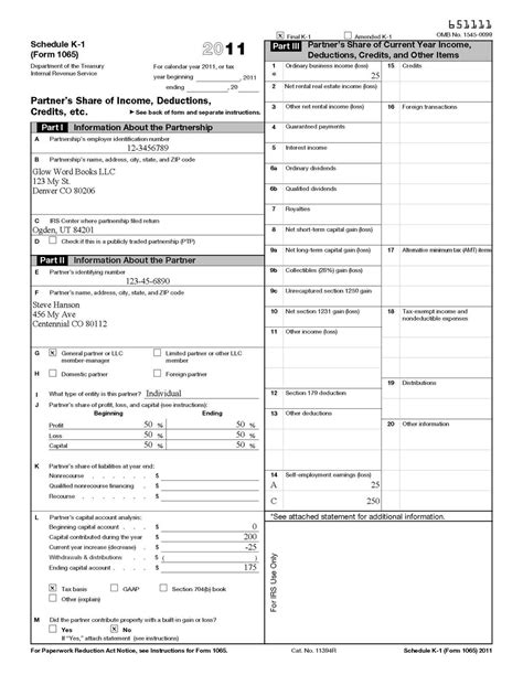 supplemental k 1 schedule federal tax form schedule a images