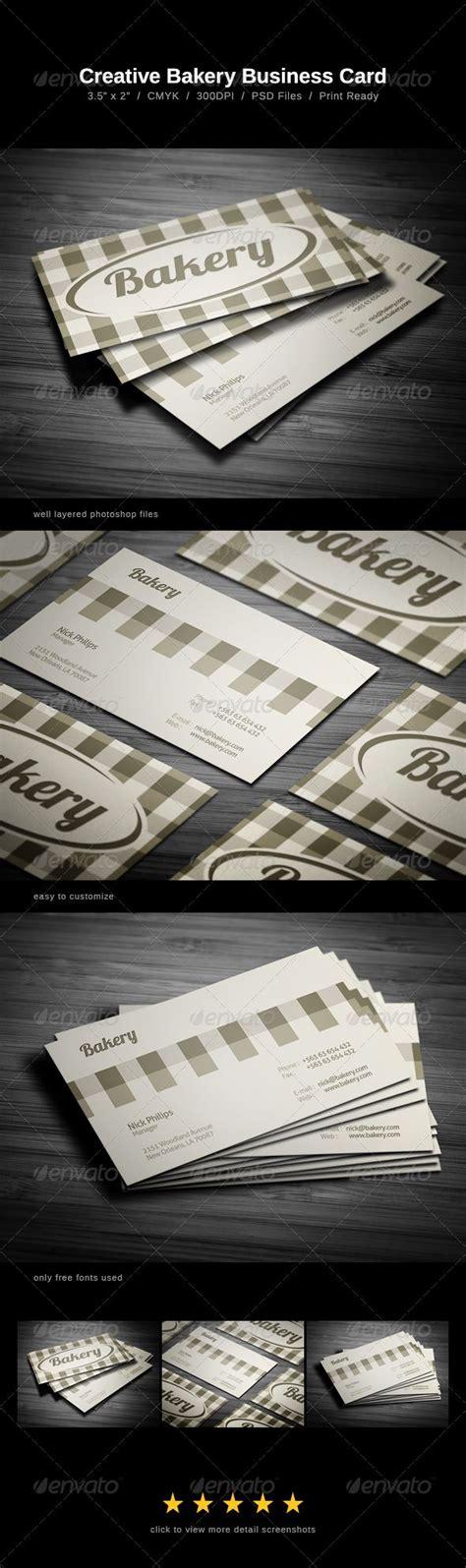 Bakery Business Card Design