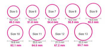 how to measure ring size at home easily determining your ring size mynamenecklace