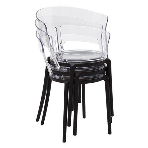 sedie plastica trasparenti sedia di design in plastica moderna con seduta e schienale