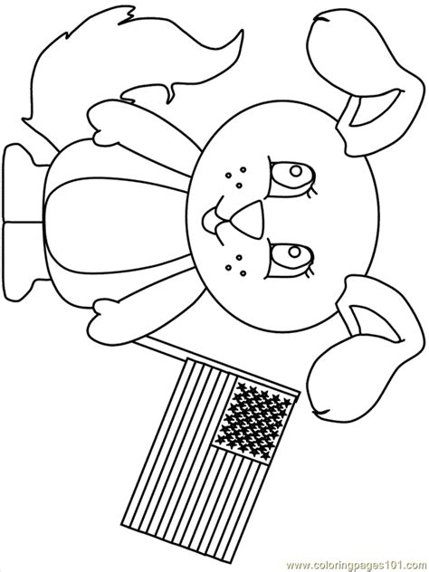 free coloring pages of i love usa