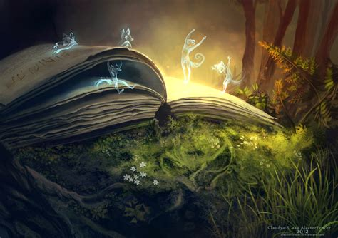 libro fairies and fantasy by story time by alectorfencer on