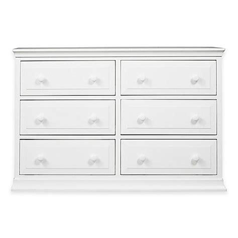 davinci 6 drawer dresser white davinci signature 6 drawer double dresser in white