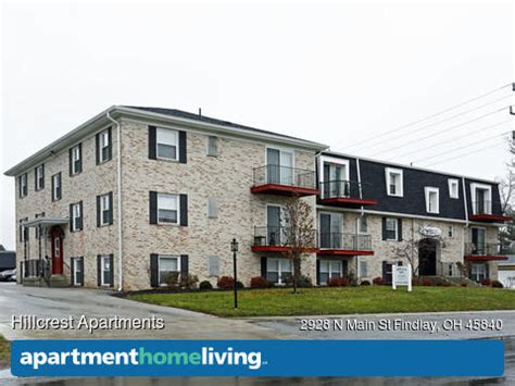 one bedroom apartments in findlay ohio hillcrest apartments findlay oh apartments for rent