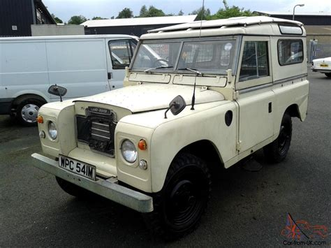 land rover safari roof 1974 landrover series 3 genuine station wagon with safari