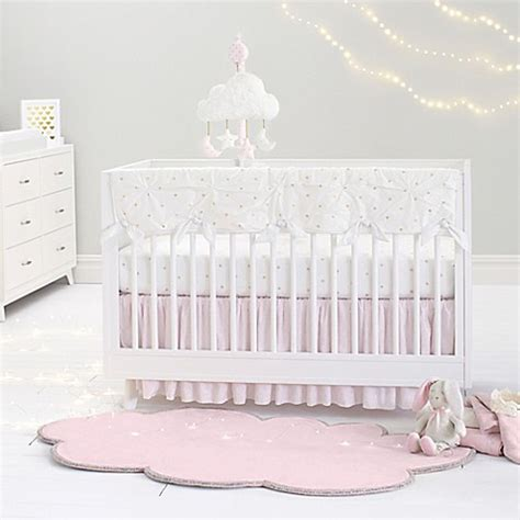 Just Born Crib Bedding Just Born 174 Sparkle Crib Bedding Collection In Ivory Bed Bath Beyond
