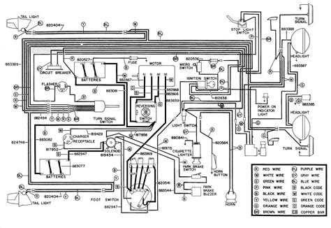 1990 ez go electric golf cart wiring diagram free