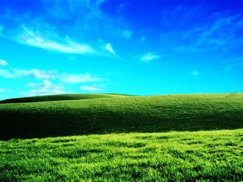 imagenes de naturaleza verdes co verde y cielo azul wallpapers gratis imagenes