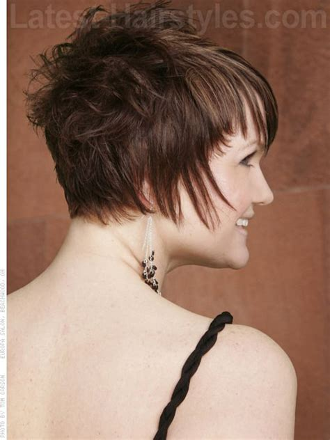 short chopped hairstyles back view 17 best images about short hair pixie cuts on pinterest