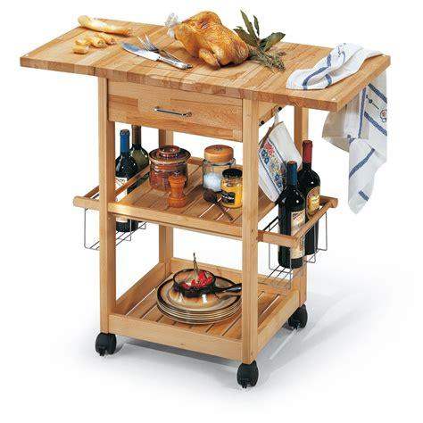 carrelli cucina legno carrello da cucina in legno gourmet arredaclick