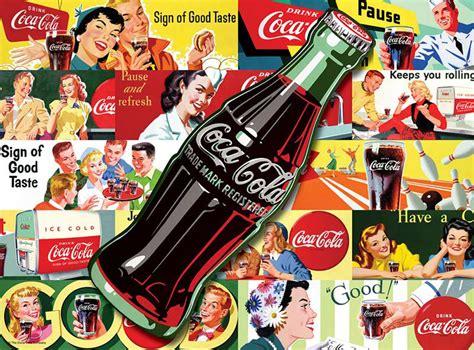 Jigsaw Puzzle Worldwide Bottles 1000 always coca cola jigsaw puzzle puzzlewarehouse