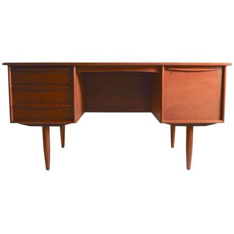 Danish Modern Teak Desk By Falster For Sale At 1stdibs Modern Teak Desk