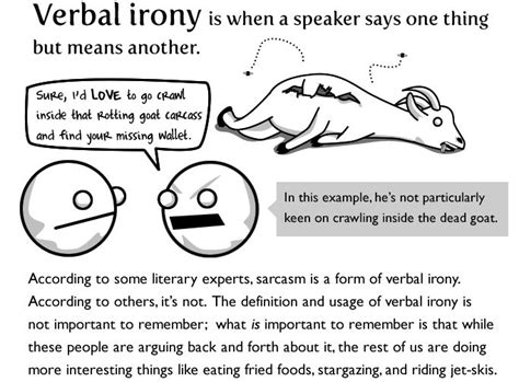 exle of verbal irony 17 best images about verbal irony on it is