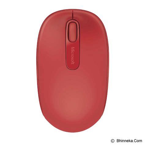 Microsoft 1850 Wireless Mouse Garansi Resmi jual microsoft wireless mobile mouse 1850 u7z 00040 murah bhinneka mobile