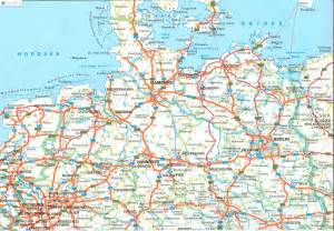 Map Of Northern Germany by Map Of Northern Germany Submited Images