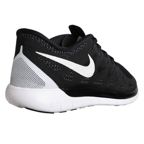 nike free 5 0 running shoes black white nike free 5 0 boy s running shoes black white