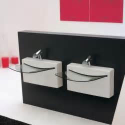 vasque suspendue wall en c 233 ramique blanche et