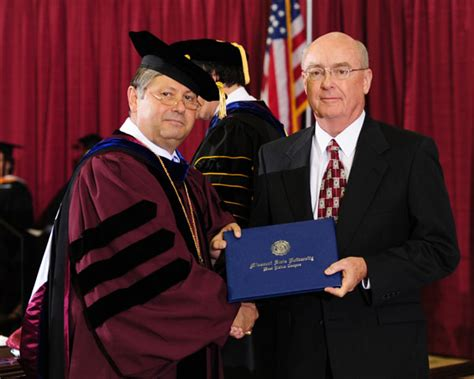 What Is The Degree Received In The Executive Mba Program by Paul Childers Receives Honorary Degree At Commencement