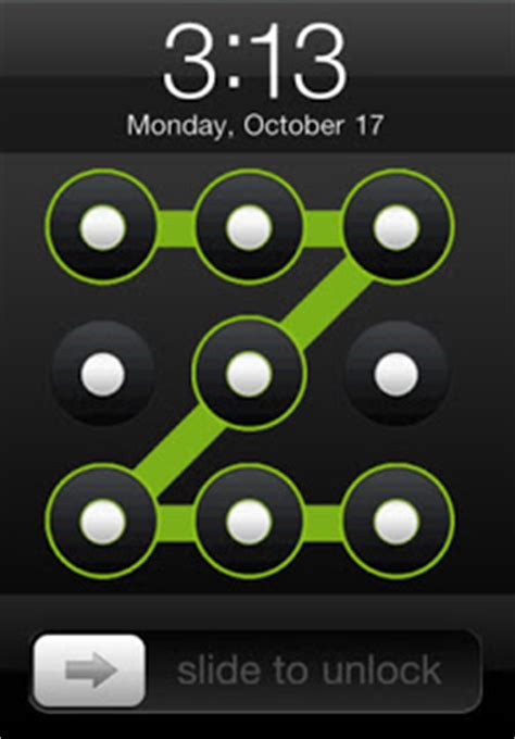 pattern unlock trick how to add pattern lock to iphone
