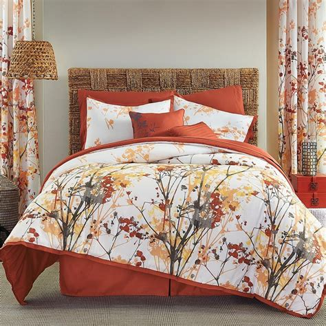 bedroom comforters and bedspreads orange and grey bedding sets with more ease bedding with